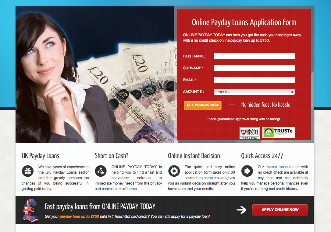 Payday Loan Spam