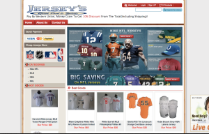 NFL Jersey Knockoff Spam