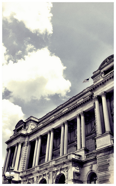 """Library of Congress (Jefferson building)"" by colincalvert is licensed under CC BY-SA 2.0"